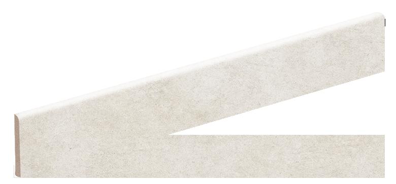 Bullnose White Satin