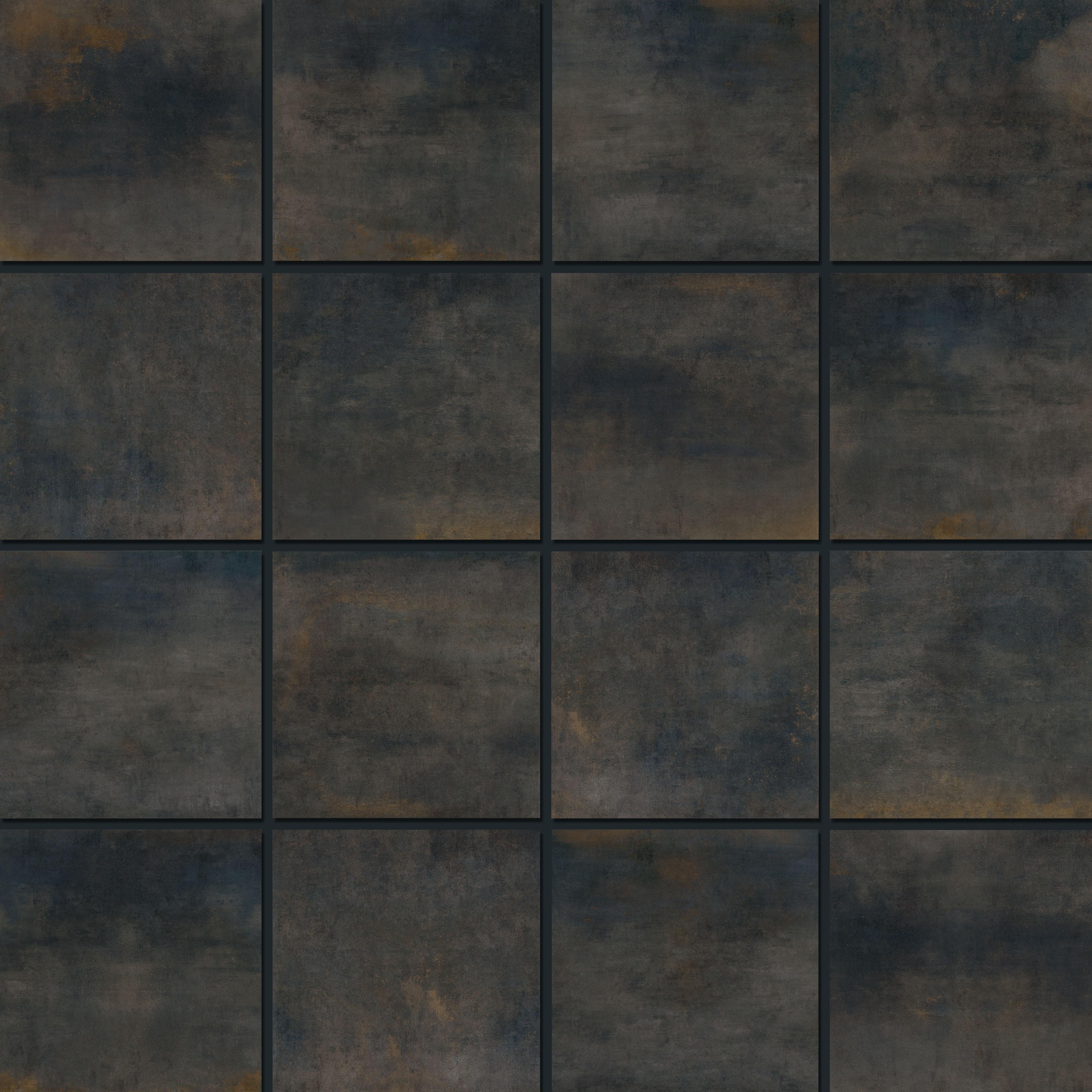 Mosaic 7,2x7,2 Shabby Black