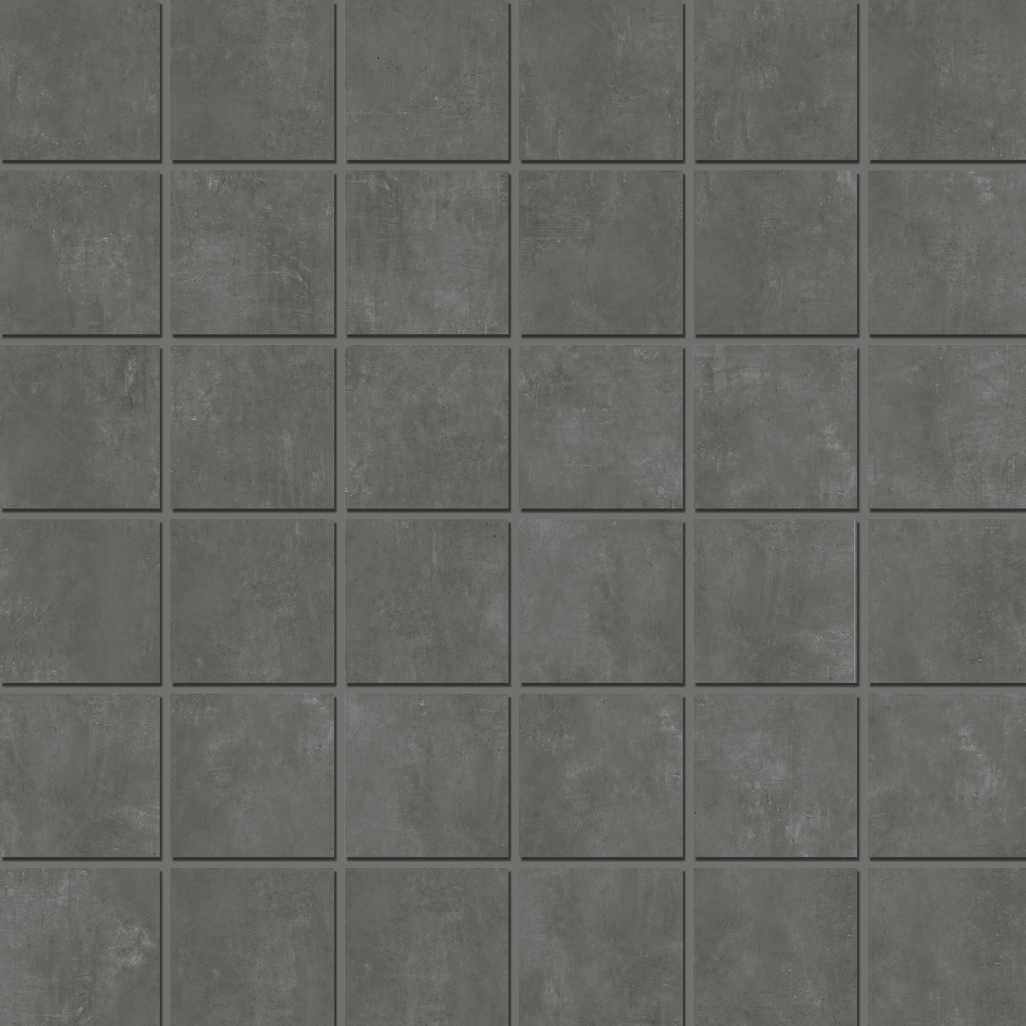 Mosaic 4,7x4,7 Anthracite