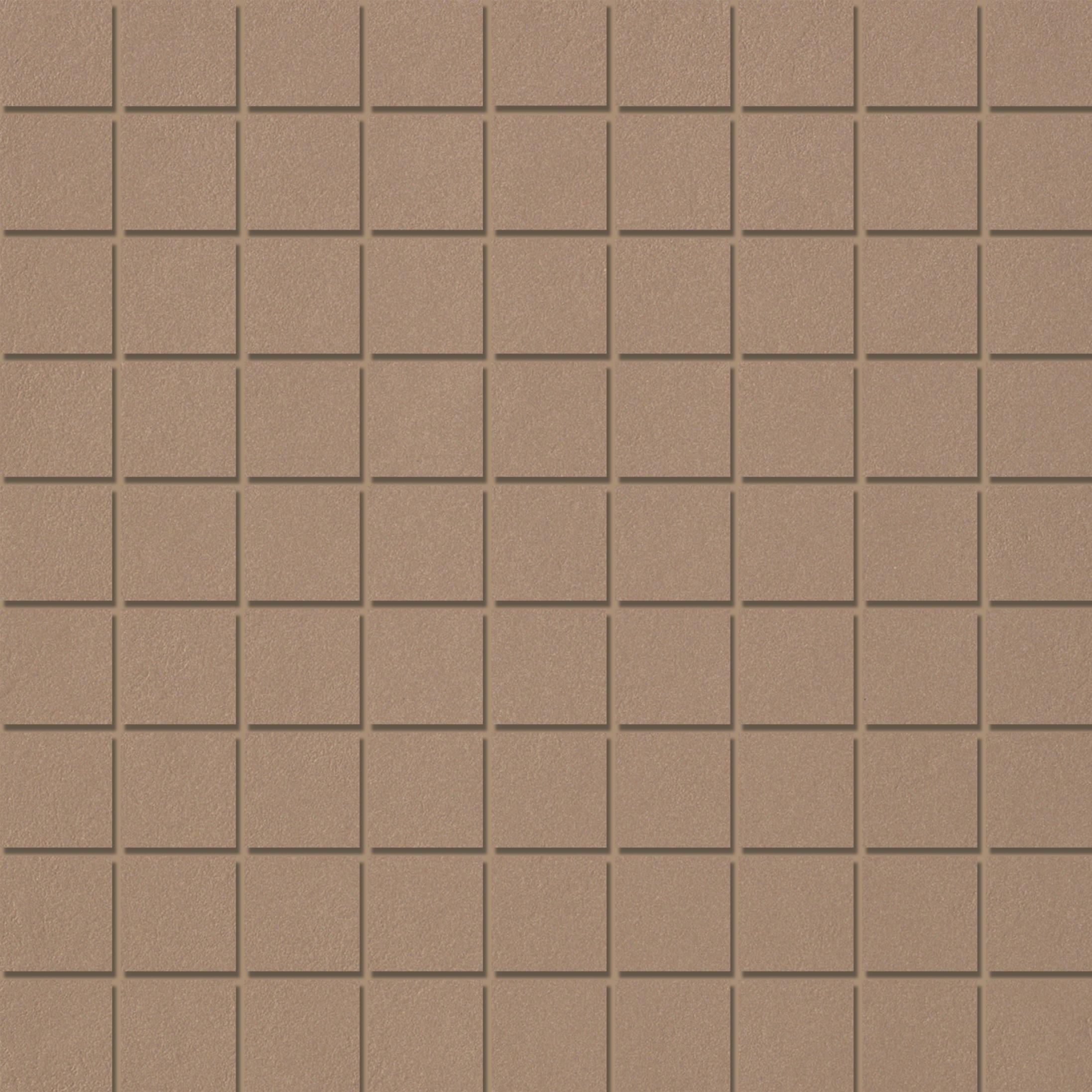Mosaic 3,1X3,1 Mid Brown
