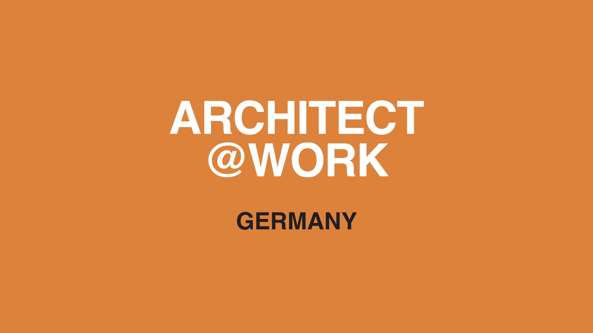 ARCHITECT@WORK GERMANY 2021