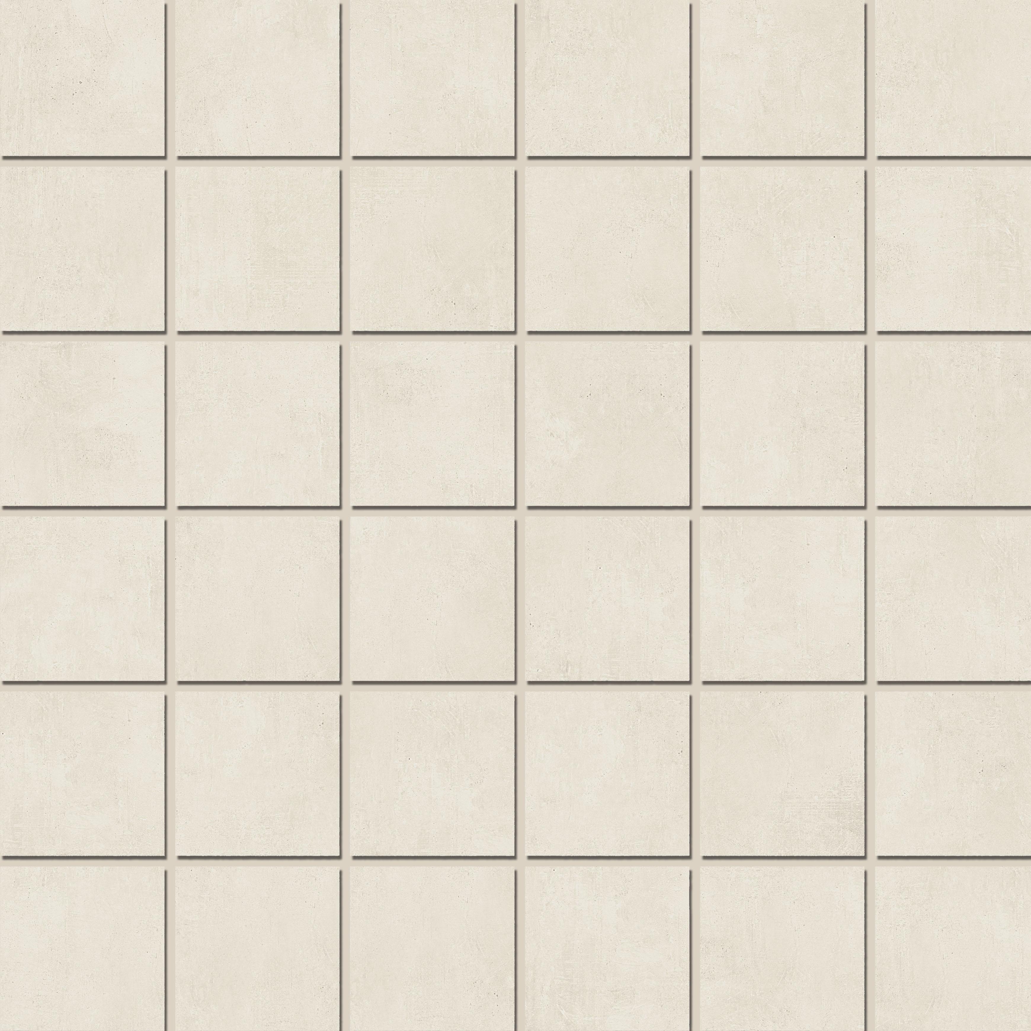 Mosaic 4,7x4,7 White